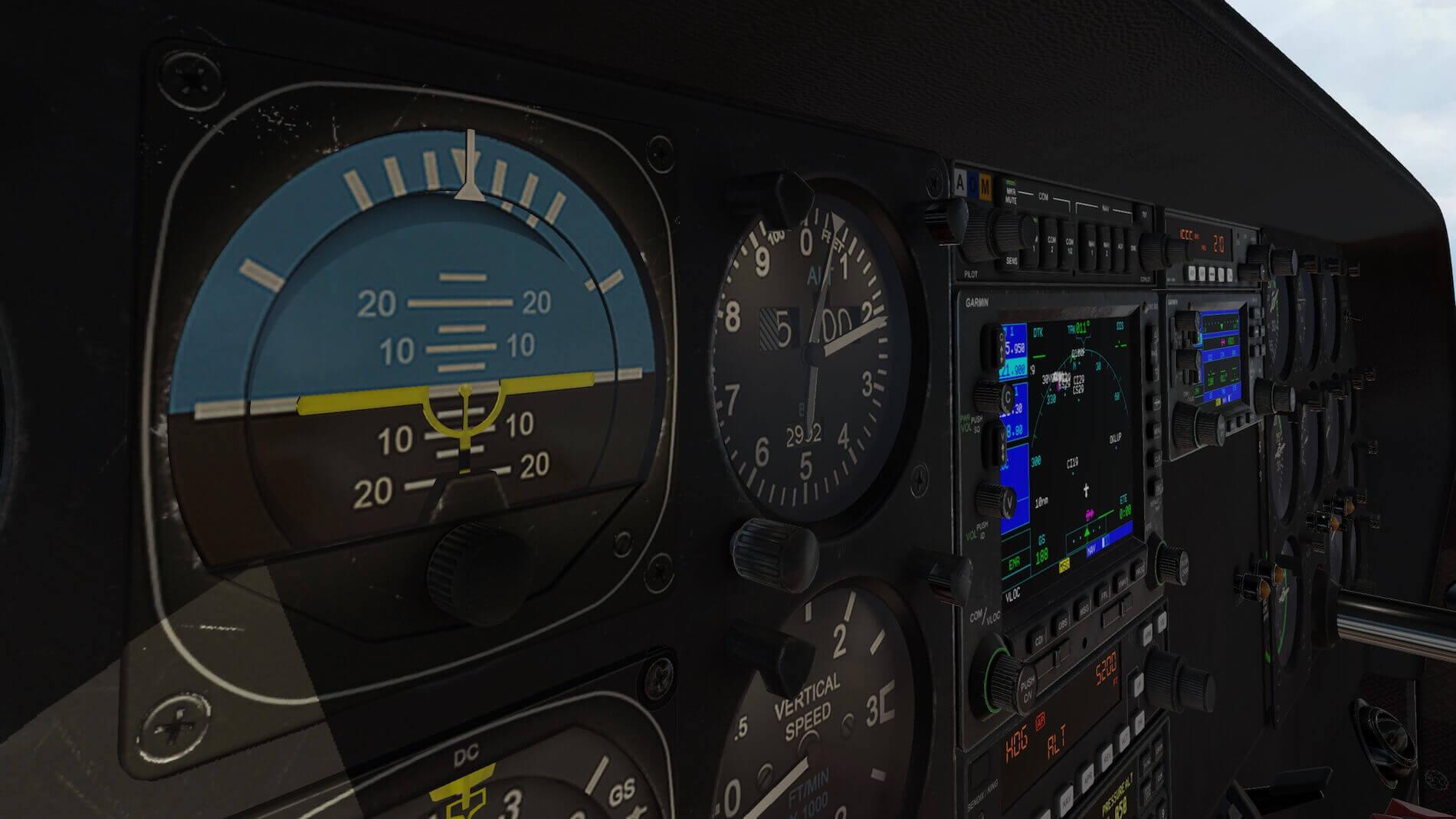 Milviz Cessna 310R_17