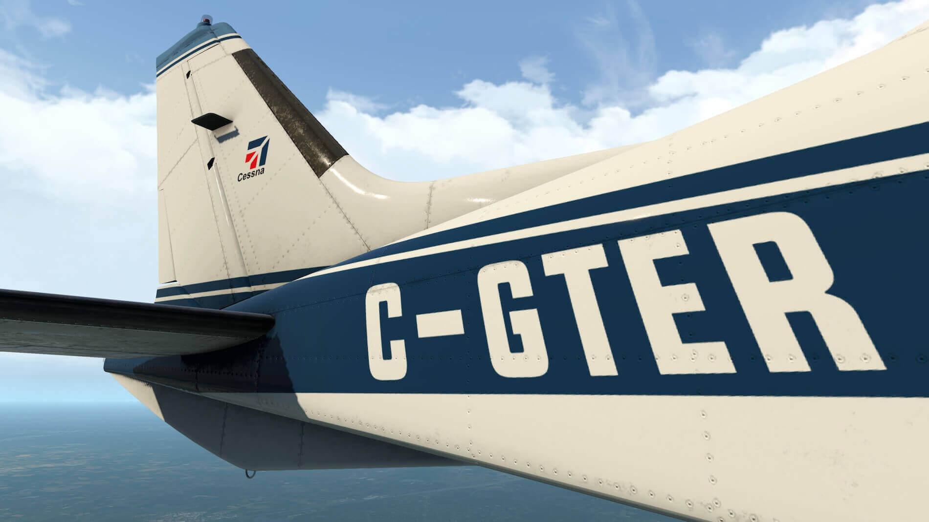 Milviz Cessna 310R_25