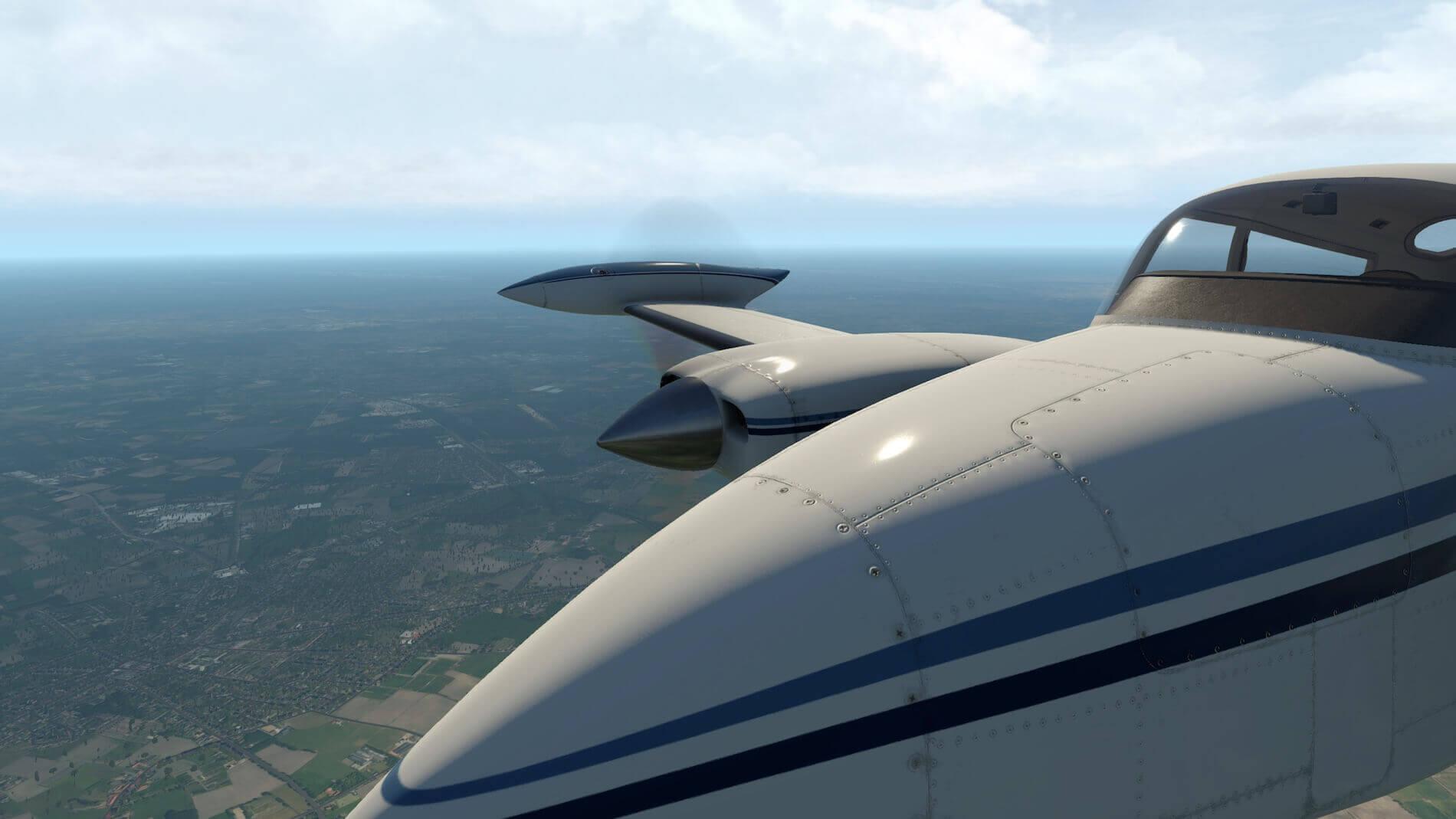 Milviz Cessna 310R_30