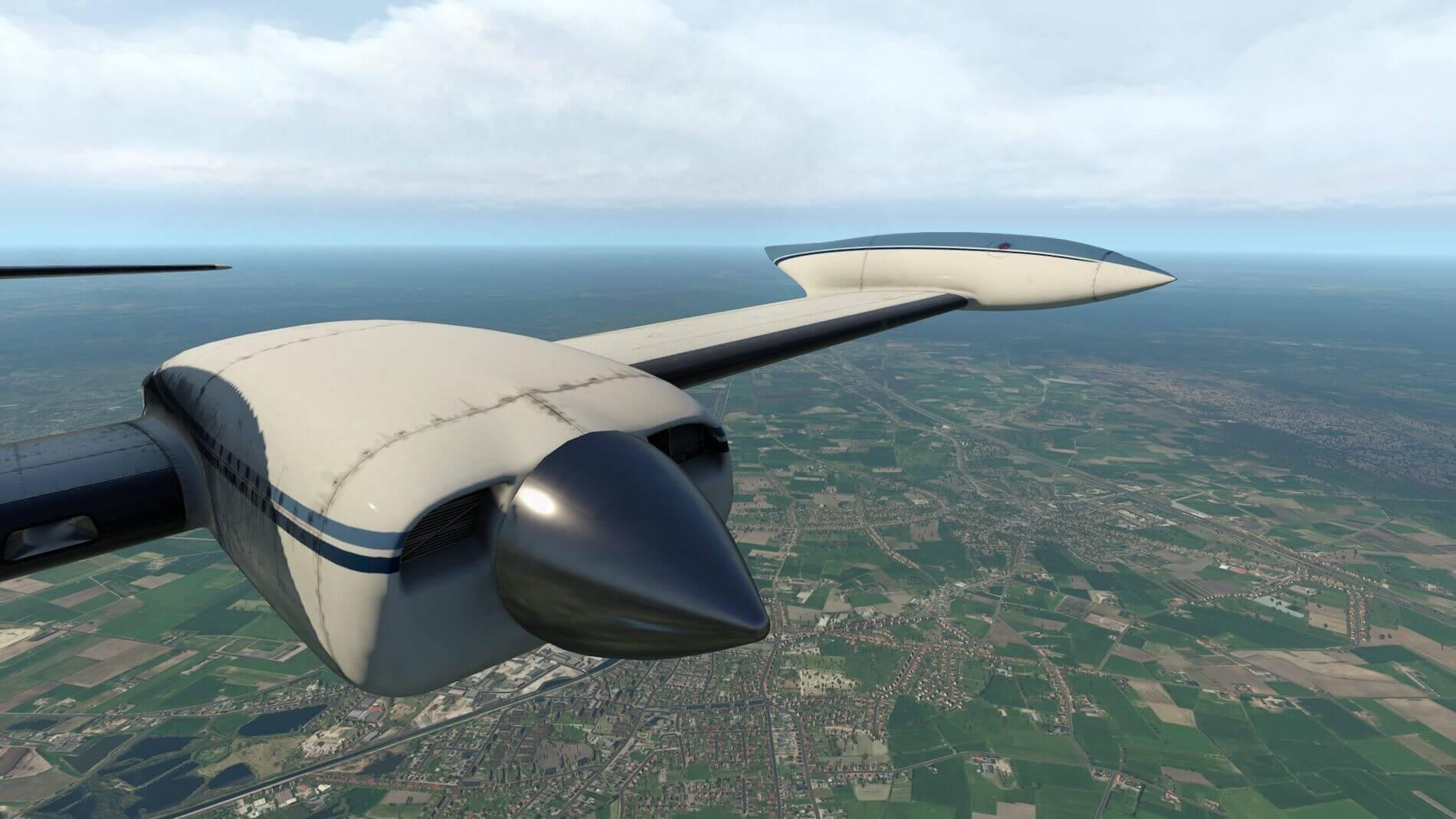 Milviz Cessna 310R_31