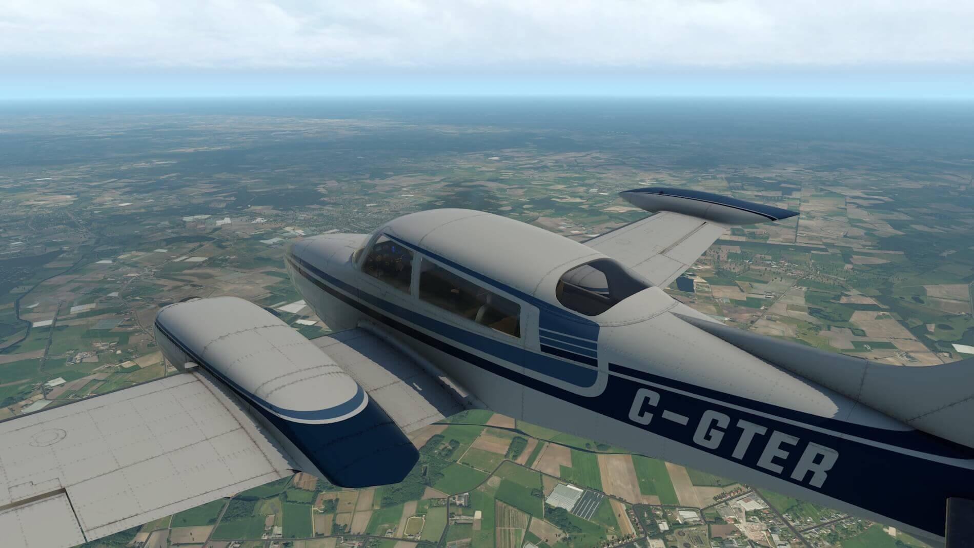 Milviz Cessna 310R_34