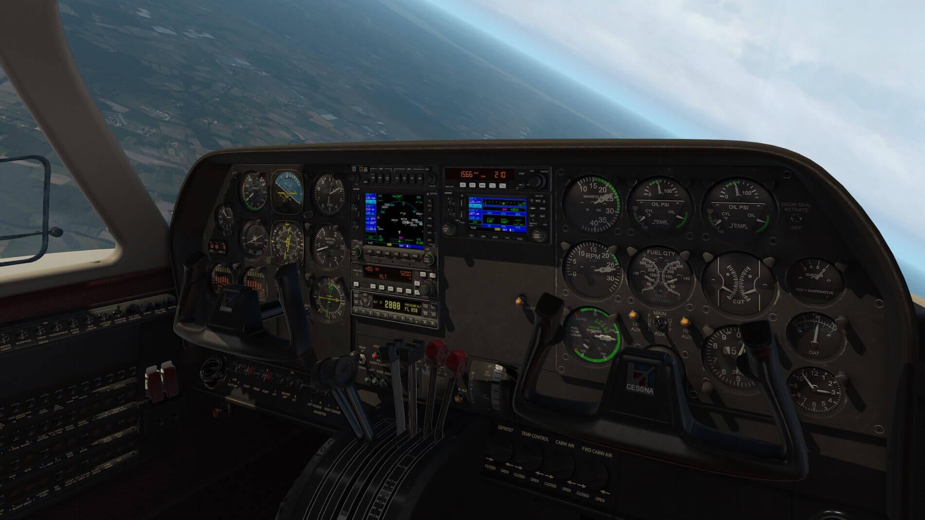 Milviz Cessna 310R_39