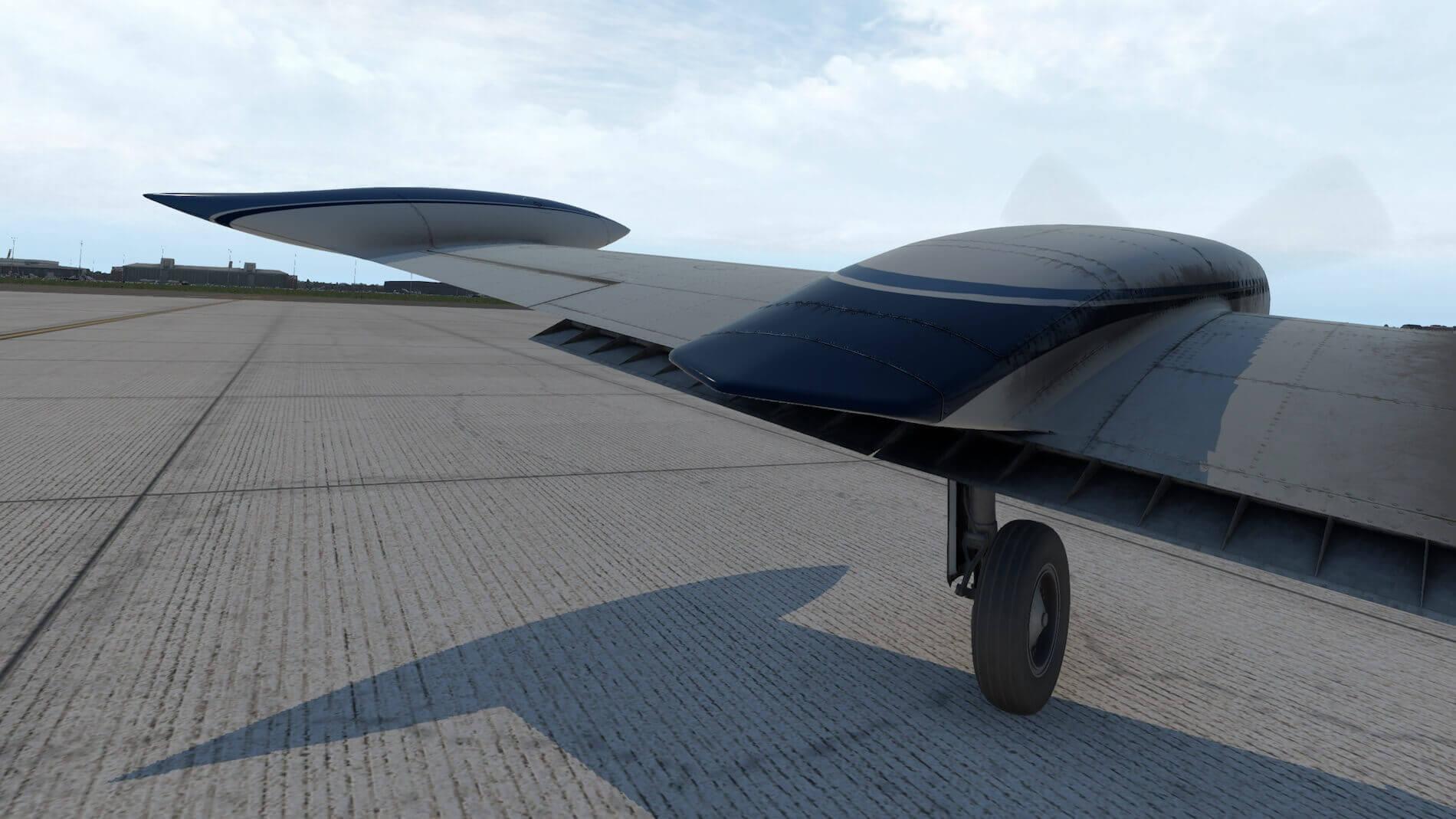 Milviz Cessna 310R_4