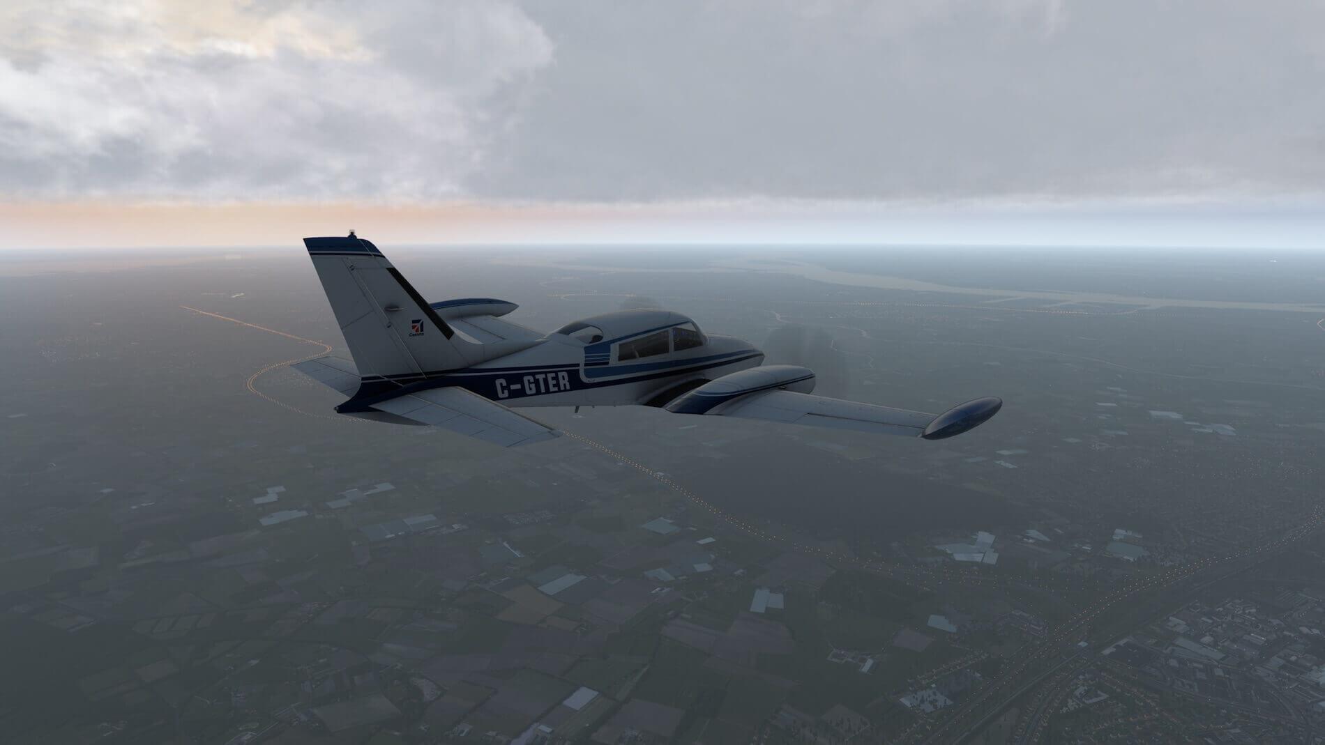 Milviz Cessna 310R_40