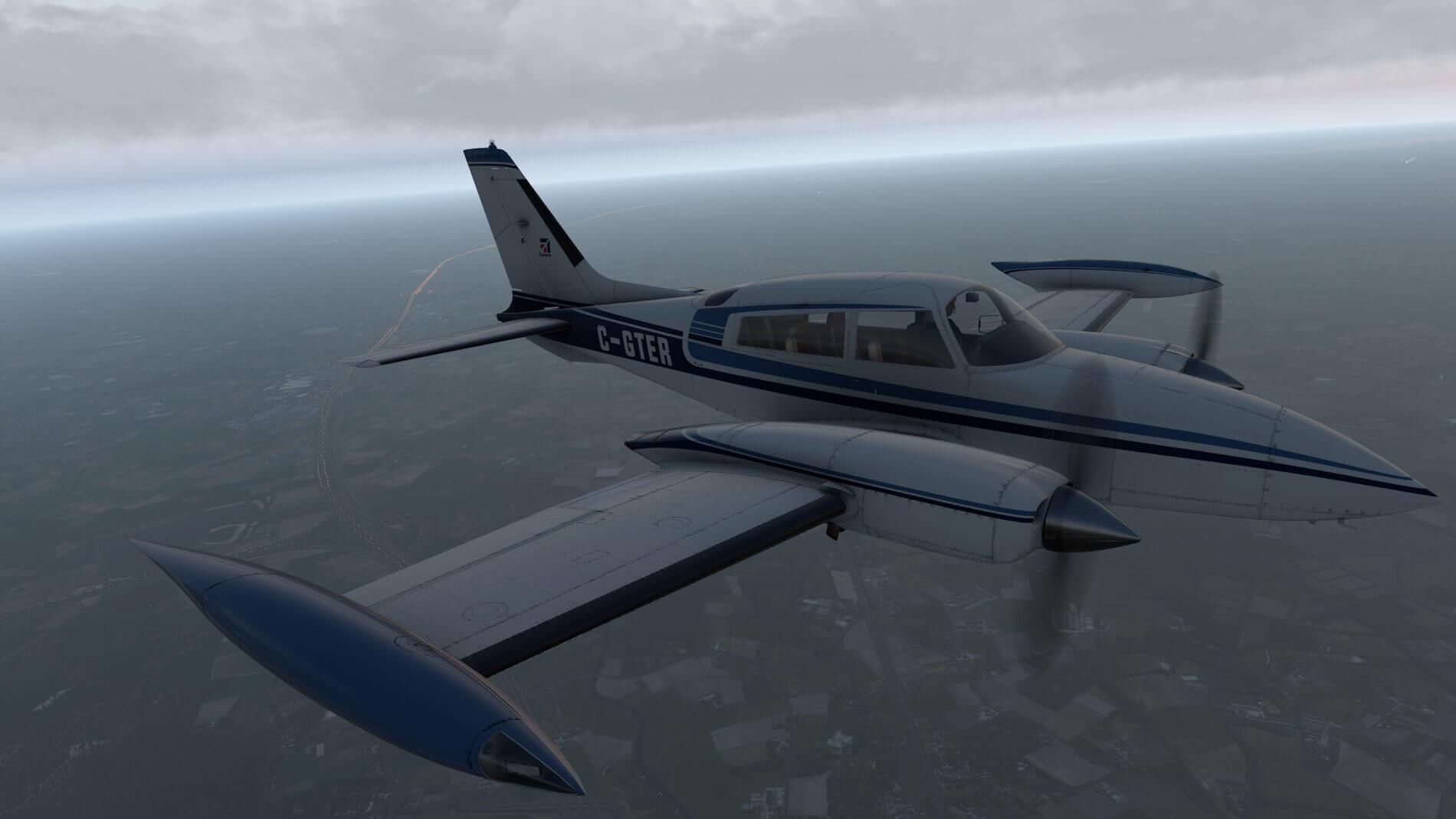Milviz Cessna 310R_41