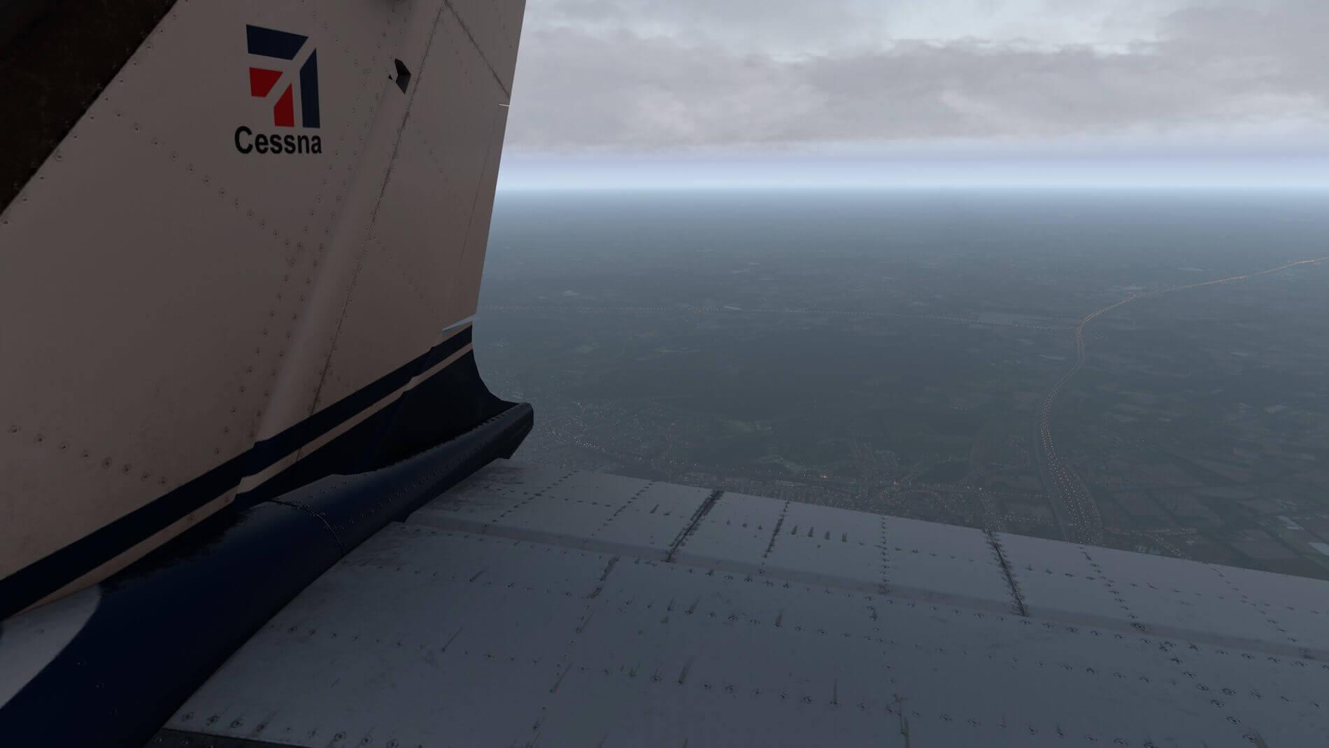 Milviz Cessna 310R_44
