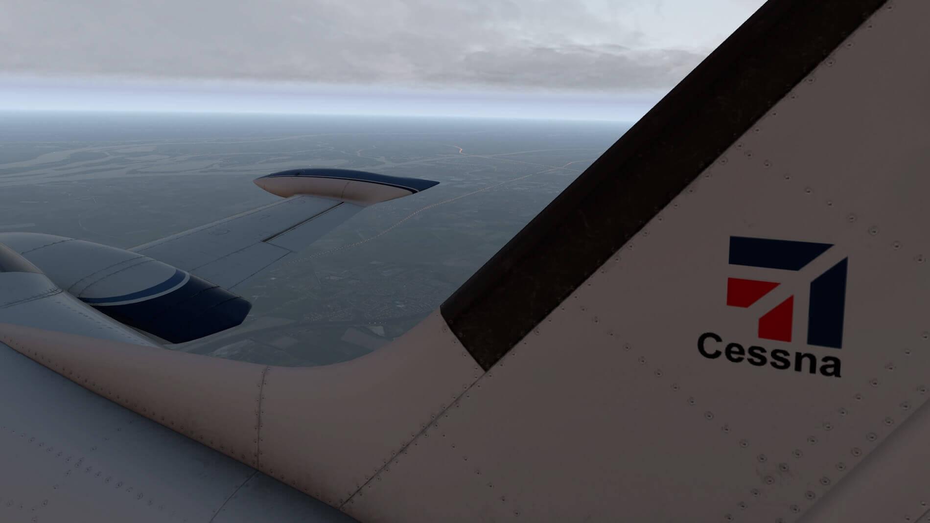 Milviz Cessna 310R_45
