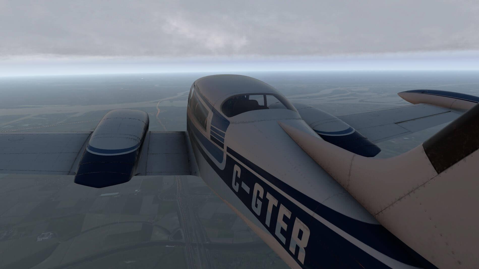 Milviz Cessna 310R_46