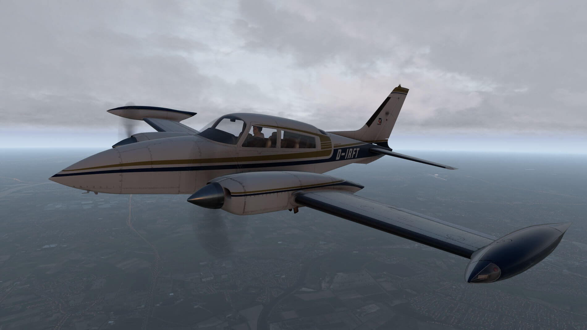 Milviz Cessna 310R_48