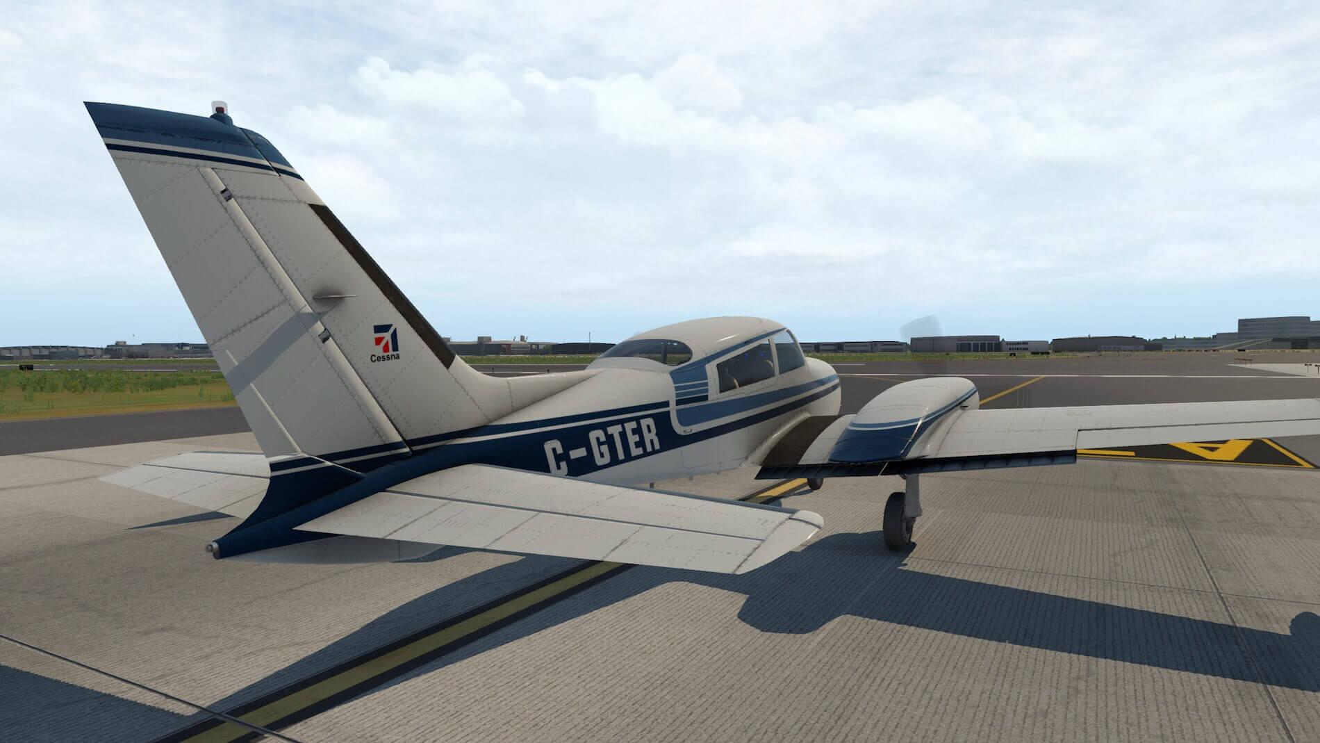 Milviz Cessna 310R_5