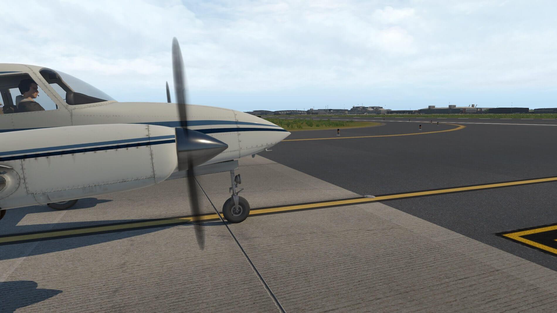 Milviz Cessna 310R_6