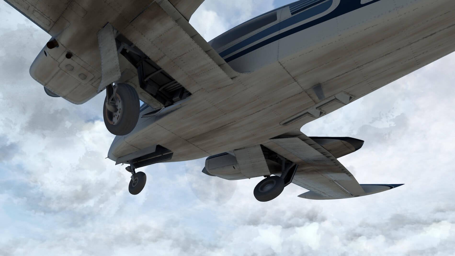 Milviz Cessna 310R_7