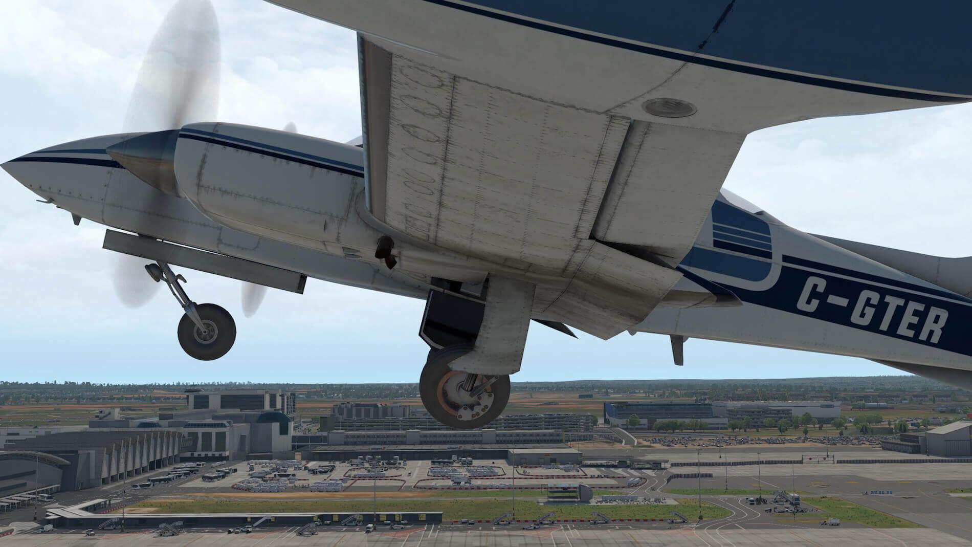 Milviz Cessna 310R_9